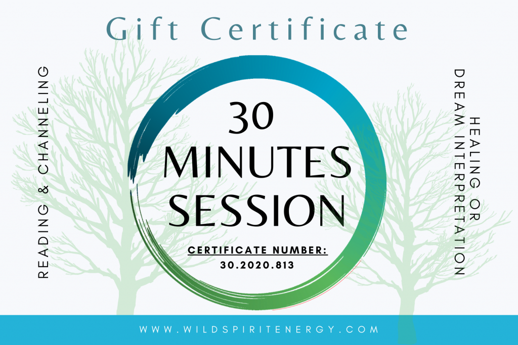 30 minutes gift card