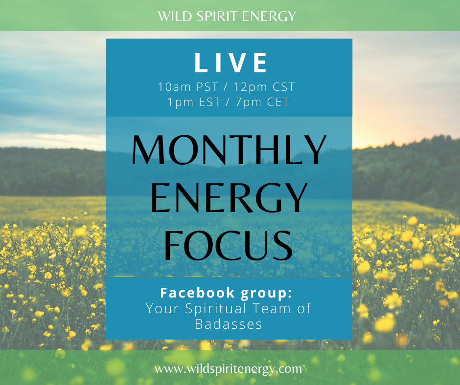 Live event Monthly reading